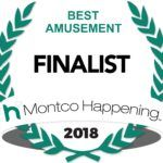 Logo of Montco Happening Best Amusement Finalist 2018